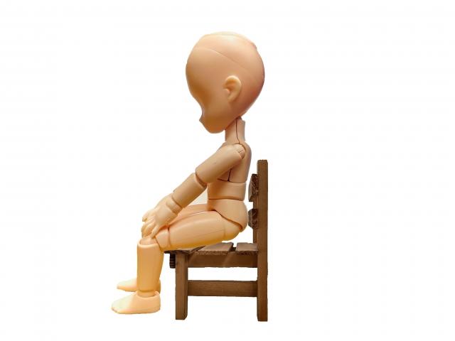 ヒップアップは椅子の座り方